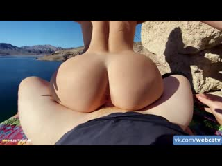 Manyvids – molly pills – amateur couple lakeside adventure porn [girl, tits, ass, fuck, bj, cum]