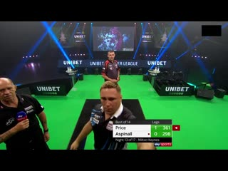 Gerwyn Price vs Nathan Aspinall (PDC Premier League Darts 2020 / Week 13)