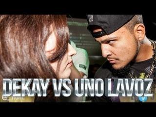 DON'T FLOP - Rap Battle - Dekay Vs Uno Lavoz [Рифмы и Панчи]