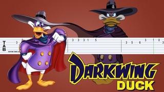 Darkwing Duck - Theme Guitar Tab