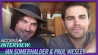 Ian Somerhalder and Paul Wesley Fought Over Who Would Die In 'Vampire Diaries'
