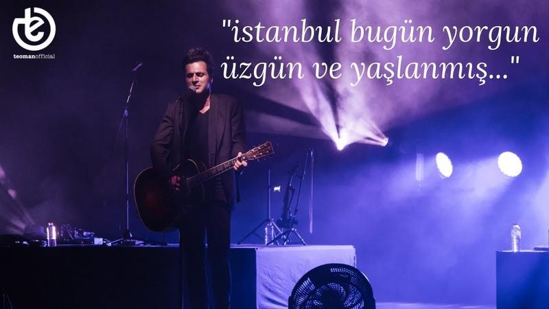 Teoman - istanbulda sonbahar | vadi açıkhava konserinden
