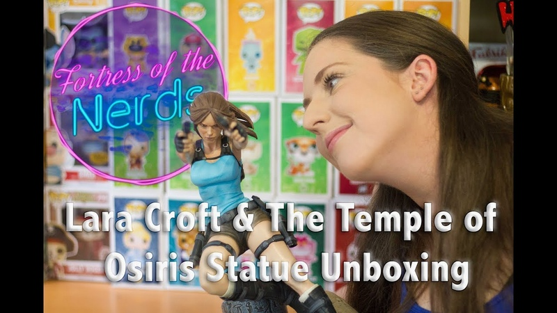 Unboxing Lara Croft The Temple Of Osiris Statue Review