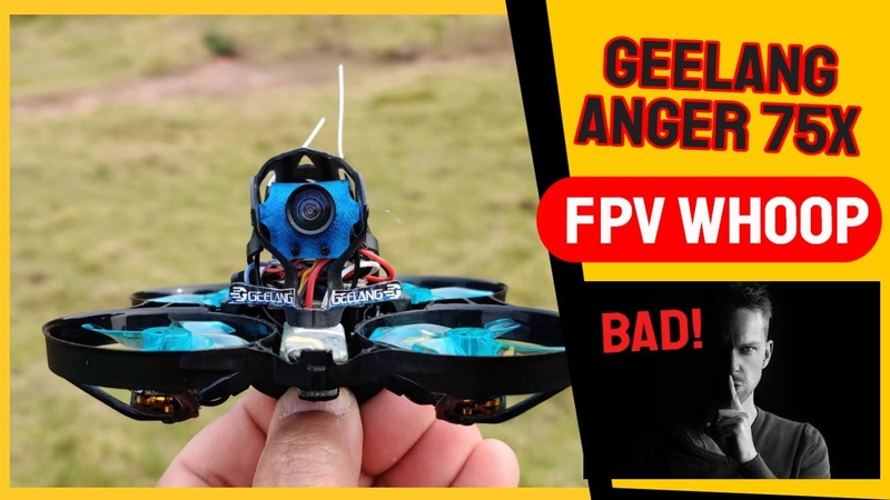 Geelang Anger 75X V2 4S Powered FPV Whoop Drone