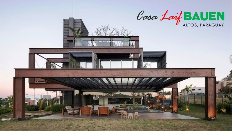 Casa Laif BAUEN Low cost Container House in Altos Paraguay