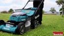 18V X2 (36V) LXT® Lithium‑Ion Brushless Cordless 21 Self‑Propelled Lawn Mower (DLM532)