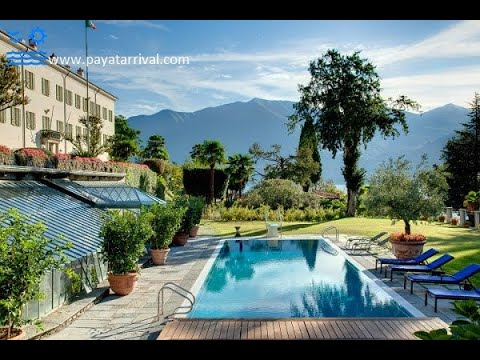 Super luxurious villa with private swimming pool at Lake Como Italy