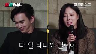 Sweet Moments of Dong Baek and Sun Mi- Behind the Scenes MEMORIST