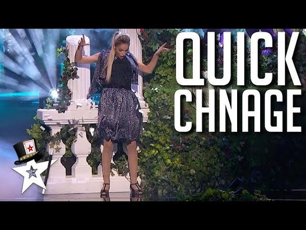 QUICK CHANGE Magician Has Style on America's Got Talent 2021 Magicians Got Talent