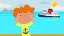 КОТЭ ТВ ⛵️ Корабли Купаемся 🌊 Веселая песня мультфильм про разные лодки и корабли
