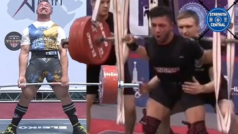 LOTW December 2019 360 kg Squat WR @ 82 kg By 22 y o 93 kg Junior Wins The European Championship