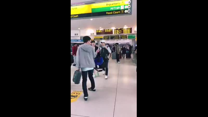 TXT arriving in NYC @ JFK Airport @TXT_members.mp4