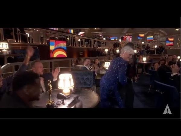 Glenn Close Doing Da Butt Dance by E U Experience Unlimited 93rd Oscars