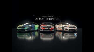BMW 8-Series Art Cars Created With Artificial Intelligence