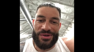 #My1 WWE's Roman Reigns Sends Anthony A Message At Joe DiMaggio Children's Hospital