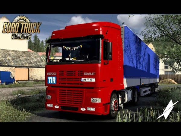 ETS2 DAF XF 95 RoStyle By RENATO