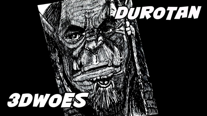 Drawing Durotan Warcraft