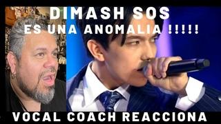 Reaccion a SOS Dimash ! Vocal coach reacciona
