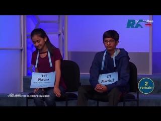 Анонс. школьник из техаса выиграл национальный конкурс произношения слов по буквам