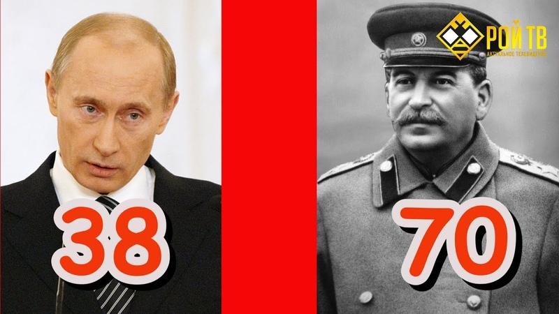Путин решил запретить Сталина