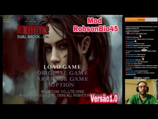 Прохождение Claire Mod Impossivel Resident Evil 2 PSX By RobsonBio45 Часть 1 Путь в Раккун Сити