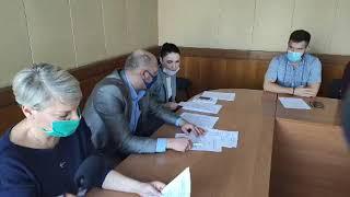 LIVE Бердянск Выборы 2020 Заседание территориальной избирательной комиссии Новый состав