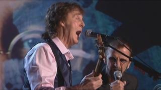 Paul McCartney, Ringo Starr, Jeff Lynne, Joe Walsh, Dave Grohl, Annie Lennox Perform The Beatles