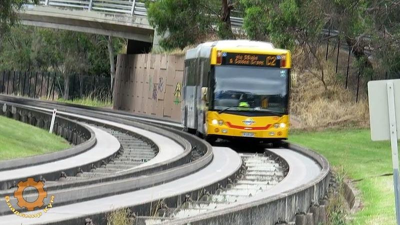 Автобусы на бетонных рельсах Скоростные маршруты Австралии