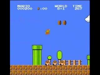 Super Mario Bros. - 500 Point Run