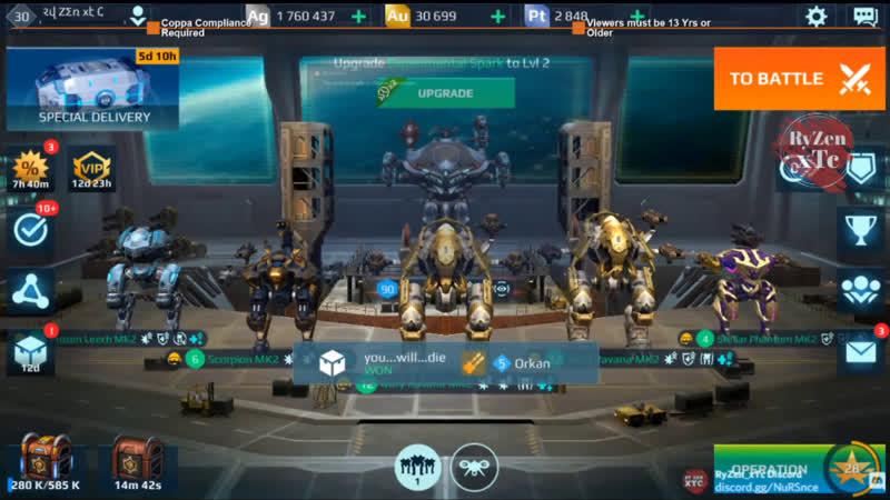 War Robots WR Frustrating Flying Bastion v7 Music by NCM NCS