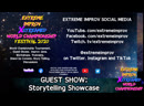 Extreme Improv XStreamed World Championship Festival 2020: Storytelling, Bromantic Duo, and more!