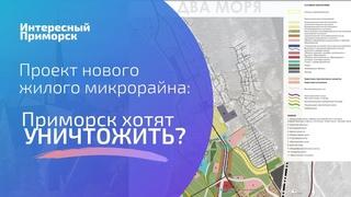 Обсуждение проекта нового жилого микрорайона в Приморске