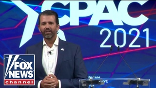 Donald Trump Jr. gives passionate speech at CPAC