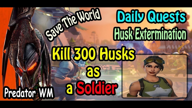 Kill 300 Husks in successful missions as a Soldier