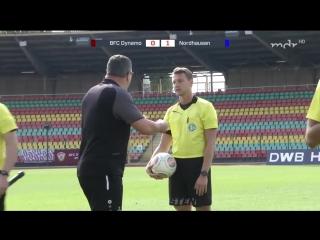 Динамо Берлин - Вакер Нордхаузен 1:1 (0:1)