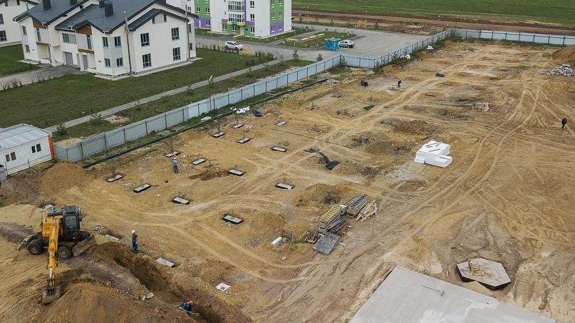 Отчет о ходе строительства квартал «Среда» май 2020, изображение №33