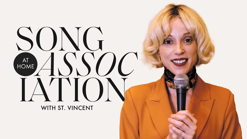 St Vincent Sings Janet Jackson Bob Dylan The Nowhere Inn in a Game of Song Association ELLE