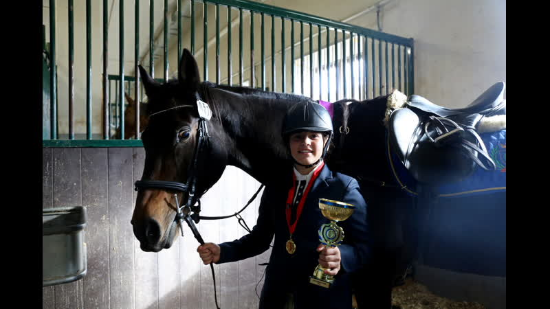 Анастасия Доманчук - победитель маршрута CSI Ch (115)