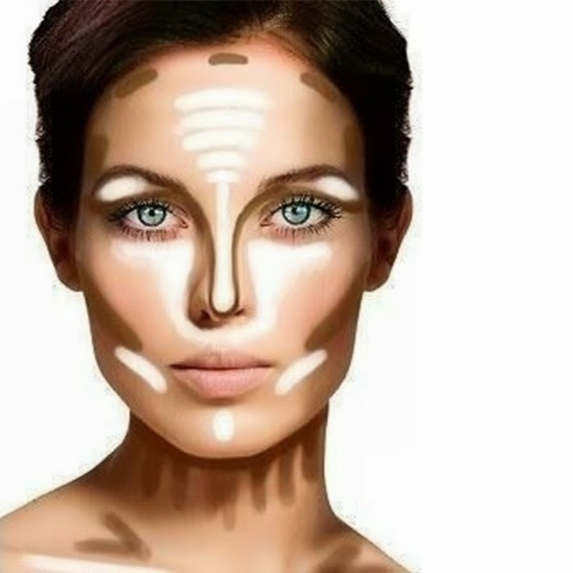 Контурирование лица: пошаговая инструкция..., изображение №1