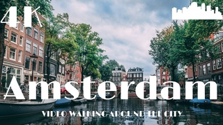 Amsterdam Netherlands 🇳🇱 Walking Europe in 4k Dji Osmo Pocket