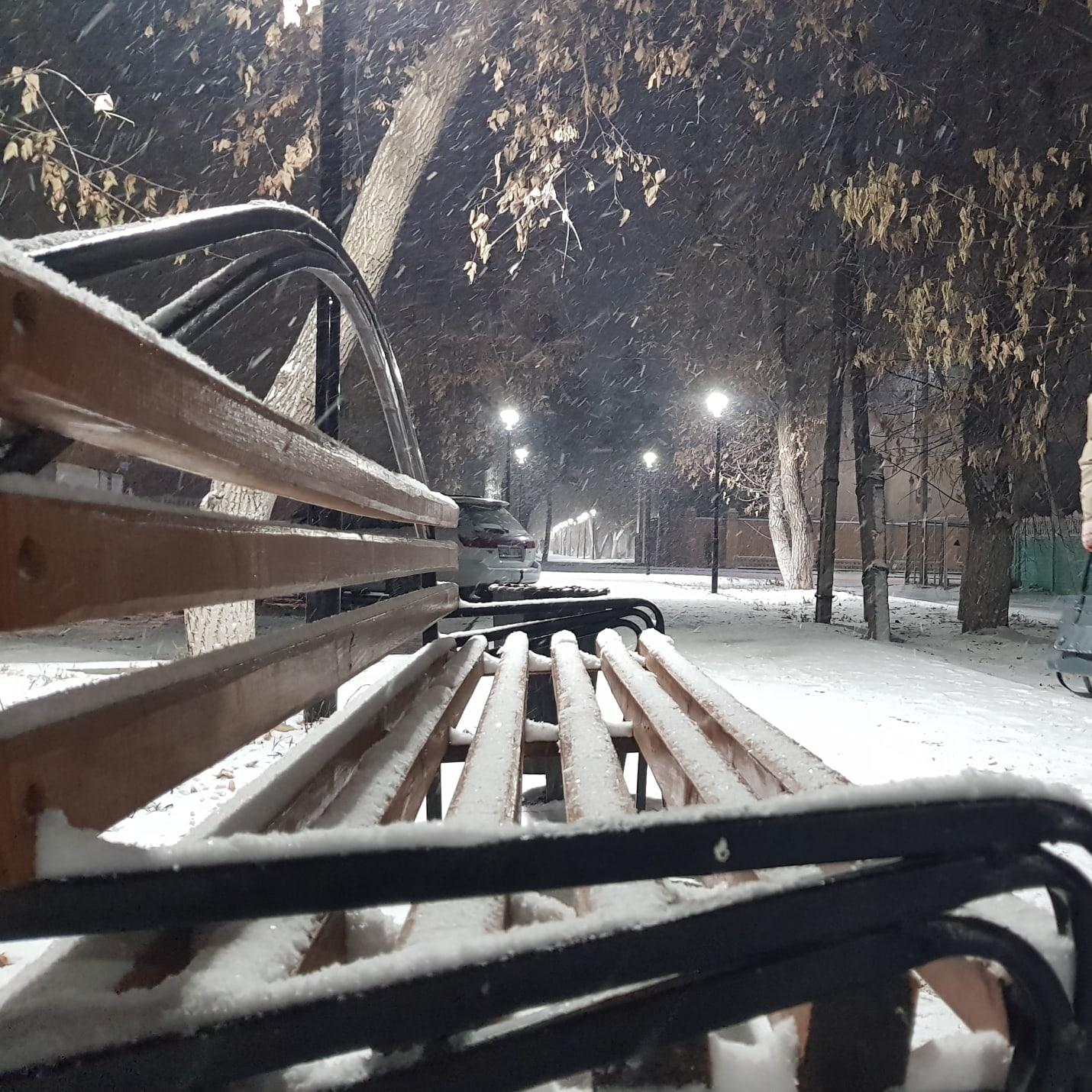 Доброе снежное утро, Павлодар!