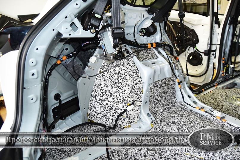 Шумоизоляция Mazda CX-9, изображение №11