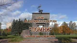 ПОМНИ - Парк академика Сахарова - осенняя видеозарисовка. Видео - Александр Травин арТзаЛ