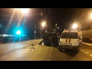 Уснувший водитель фуры устроил тройное ДТП под Тверью