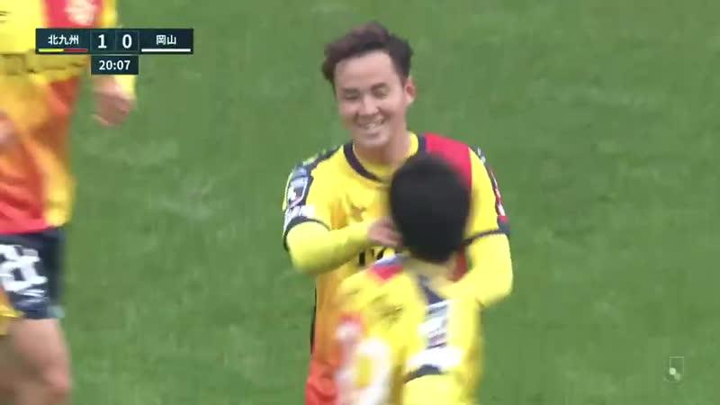 Чемпионат Японии 2020 Вторая лига Все голы 37 го тура