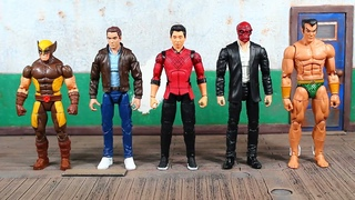 Marvel Legends Shang Chi And The Legend Of The Ten Rings Movie, Mr Hyde BAF Wave SHANG CHI Review!