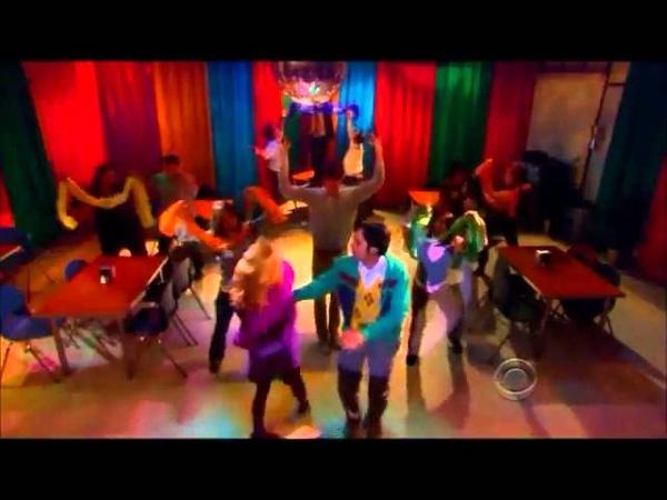 The Big Bang Theory Raj and Bernadette Dance