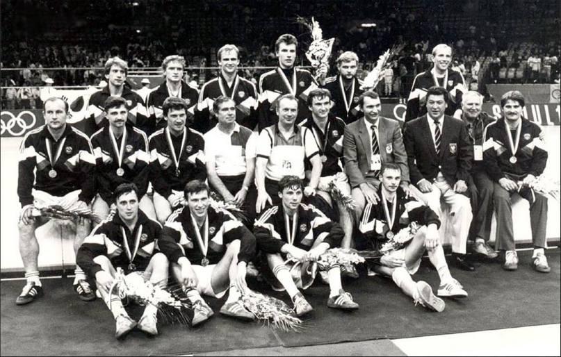 Сборная СССР — чемпион Олимпиады-88