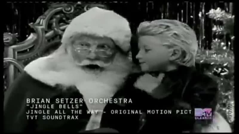Brian setzer orchestra jingle bella mtv classic