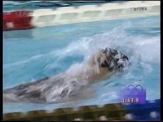Women's 200m Backstroke Final - 1996 Atlanta Olympic Games